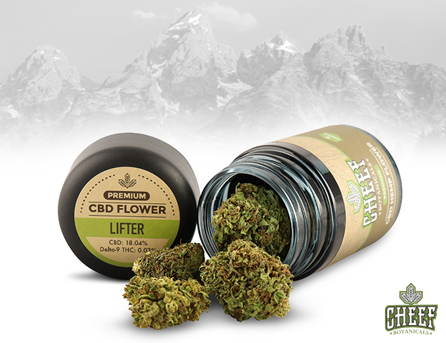 Cheef Botanicals Lifter Flower in a jar