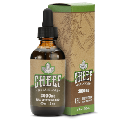 Cheef Botanicals CBD Oil Tincture 3000mg