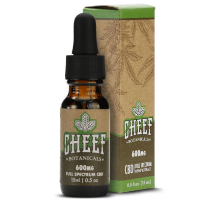 Cheef Botanicals CBD Oil Tincture 600mg