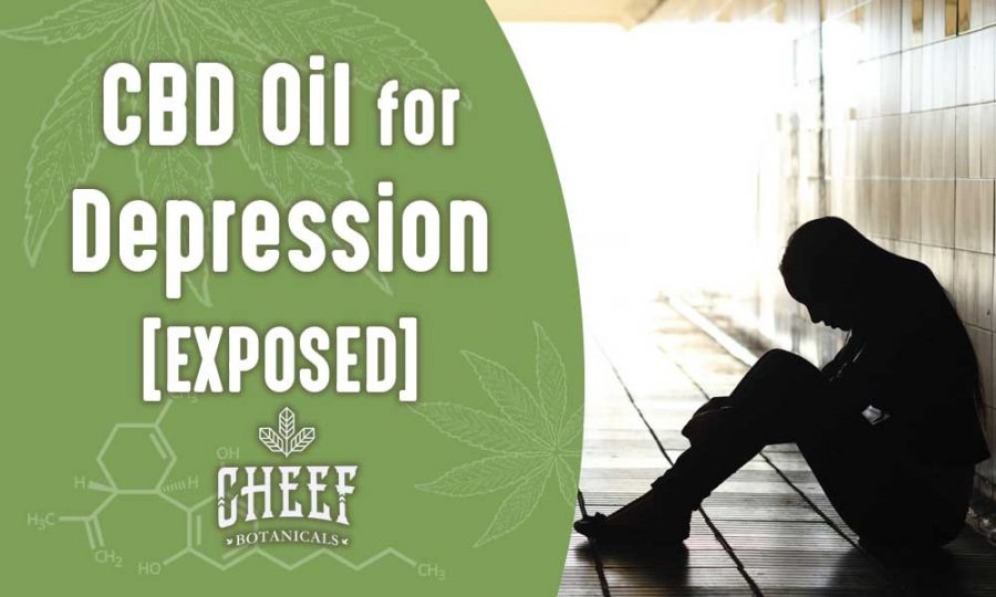 Using CBD Oil For Depression Works Depressed Person