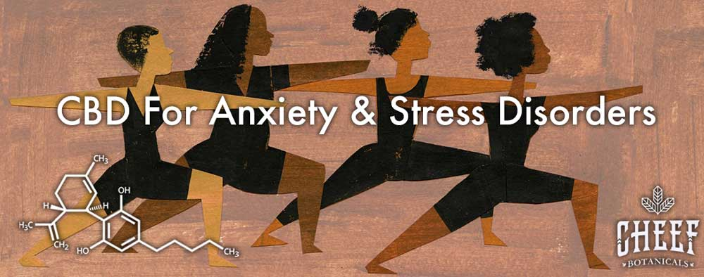 CBD For Anxiety And Stress Disorders Yoga Women
