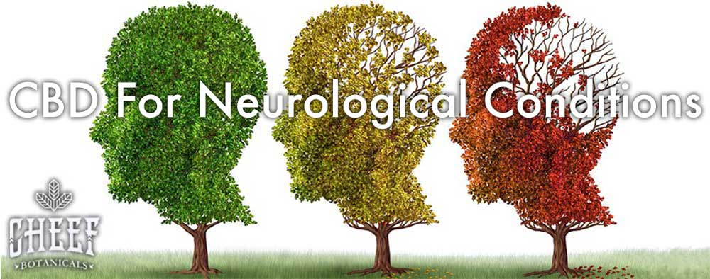 CBD for neurological disorders middle banner tree brain
