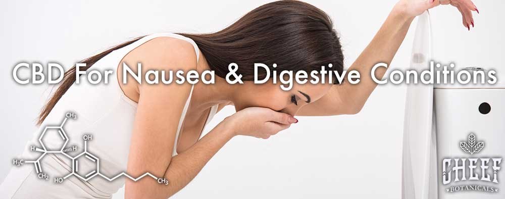 CBD For Nausea And Digestive Conditions Nauseous Girl