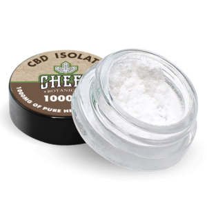Cheef Botanicals CBD Isolate Jar