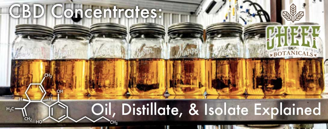 CBD Concentrates Explained Banner Jars
