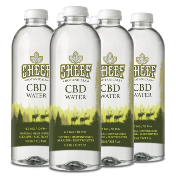 Full Spectrum CBD Water – 6 Pack – 16.9 Fl. Oz. Bottles