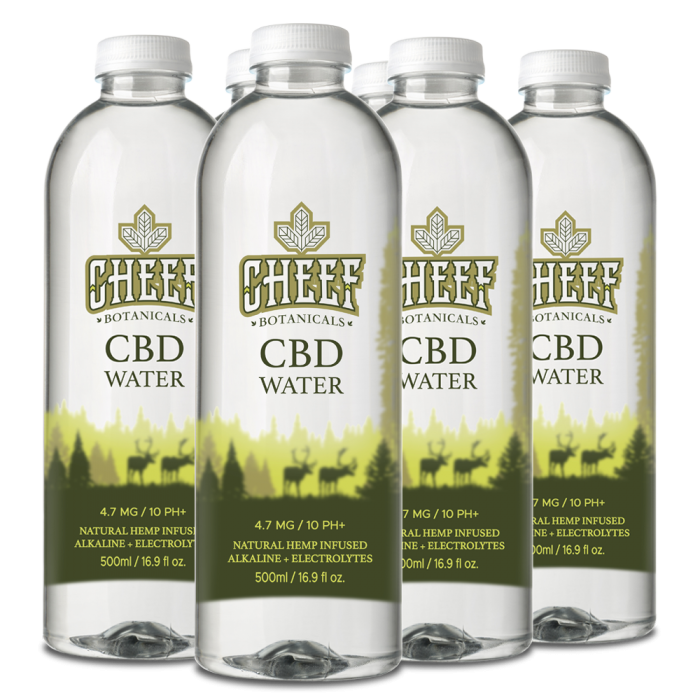 Cheef Botanicals CBD Water 6 Pack