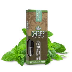 Cheef Botanicals CBD Vape Cart Menthol