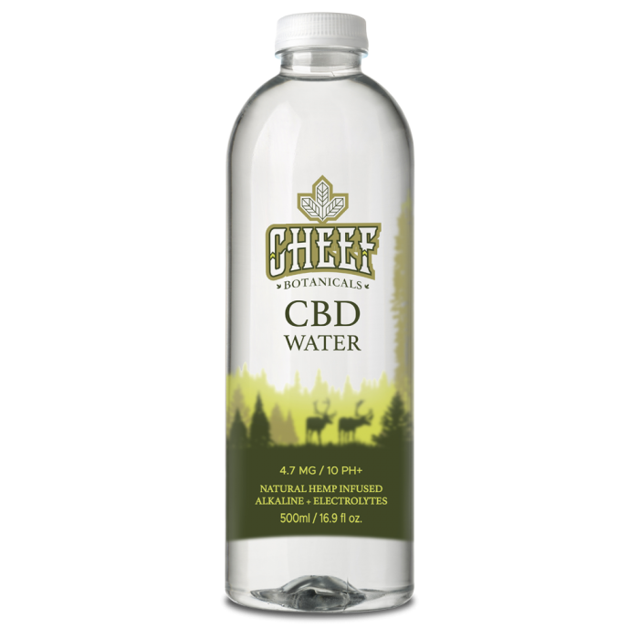 Cheef Botanicals CBD Water 16.9 fl.oz.