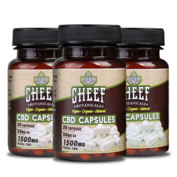 Bundle & Save: 3 CBD Capusles (3 X 1500mg)