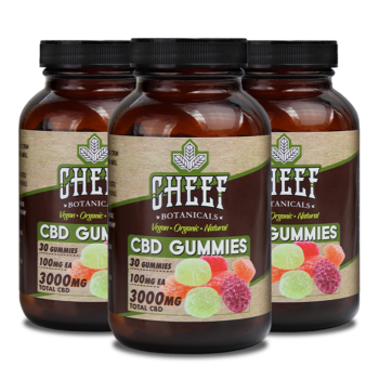 Bundle & Save: 3 Vegan CBD Gummies (3 X 3000mg)