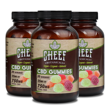 Bundle & Save: 3 Vegan CBD Gummies (3 X 750mg)