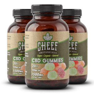 Cheef Botanicals CBD Gummies Bundle 1500mg