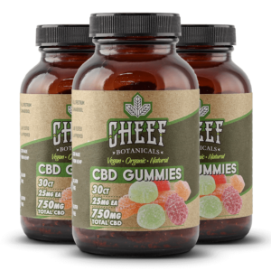 Cheef Botanicals CBD Gummies Bundle 750mg