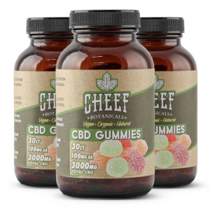 Cheef Botanicals CBD Gummies Bundle 3000mg