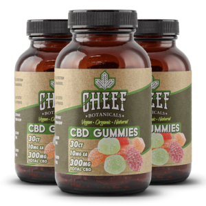 Cheef Botanicals CBD Gummies Bundle 300mg