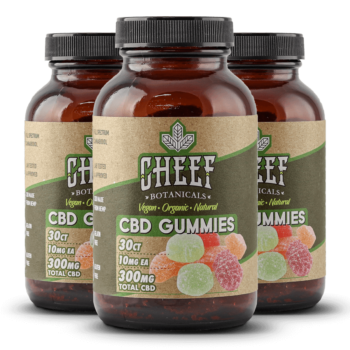 Bundle & Save: 3 Vegan CBD Gummies (3 X 300mg)
