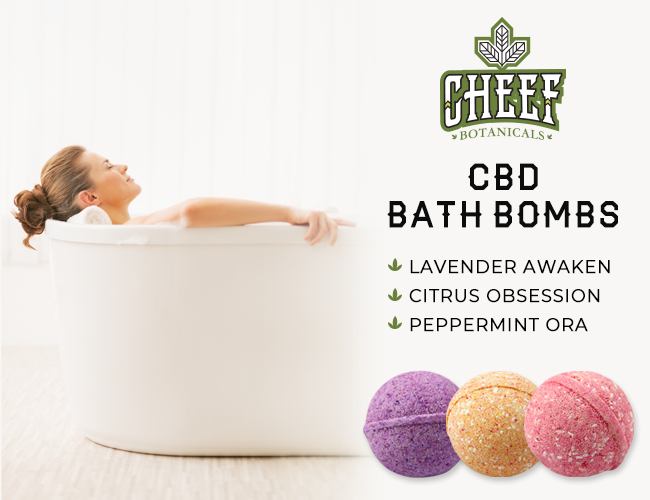 Best CBD Bath Bombs