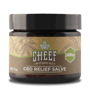 Cheef Botanicals Relief Salve 500mg