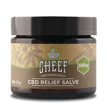 cbd muscle relief salve