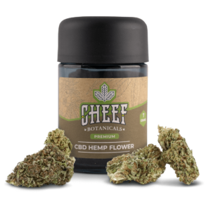 Cheef Botanicals CBD Hemp Flower Purple Gas Jar