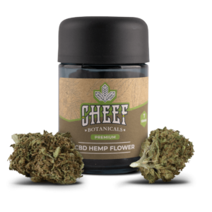 Cheef Botanicals CBD Hemp Flower Skywalker OG Jar