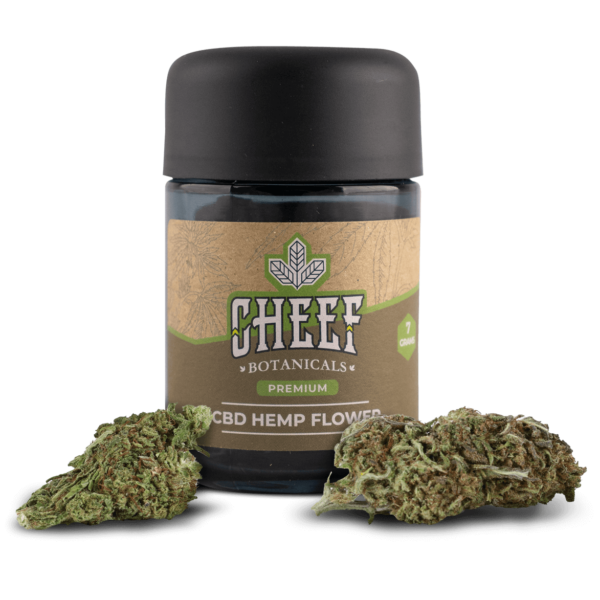 Cheef Botanicals CBD Hemp Flower Special Sauce Jar