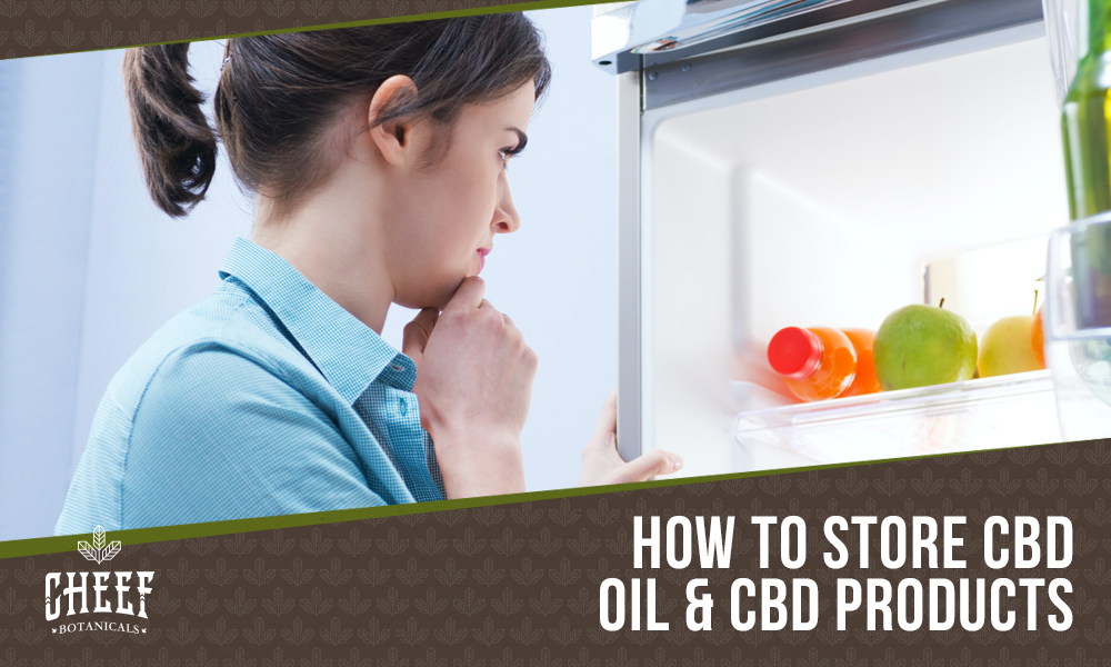 Does CBD Oil Need To Be Refrigerated