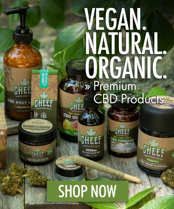Cheef Botanicals CBD Discount Codes: