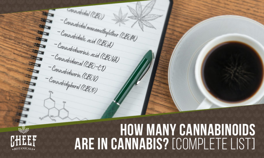 The Complete List Of Cannabinoids In Cannabis