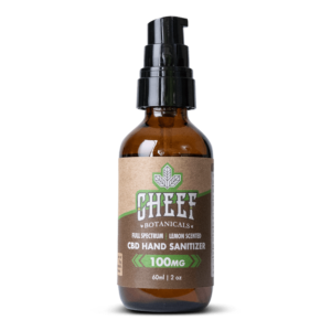 Cheef Botanicals Hand Sanitizer with CBD