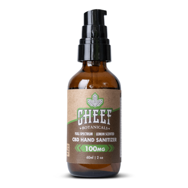 Cheef Botanicals Hand Sanitizer with CBD
