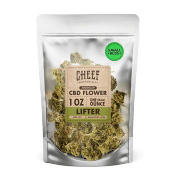 CBD Hemp Flower – Lifter (SMALL BUDS)