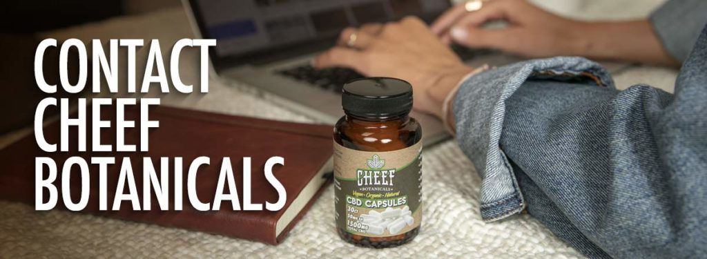 Cheef Botanicals Contact Us Page Banner