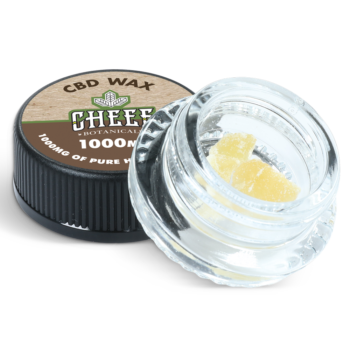 cbd wax in a jar