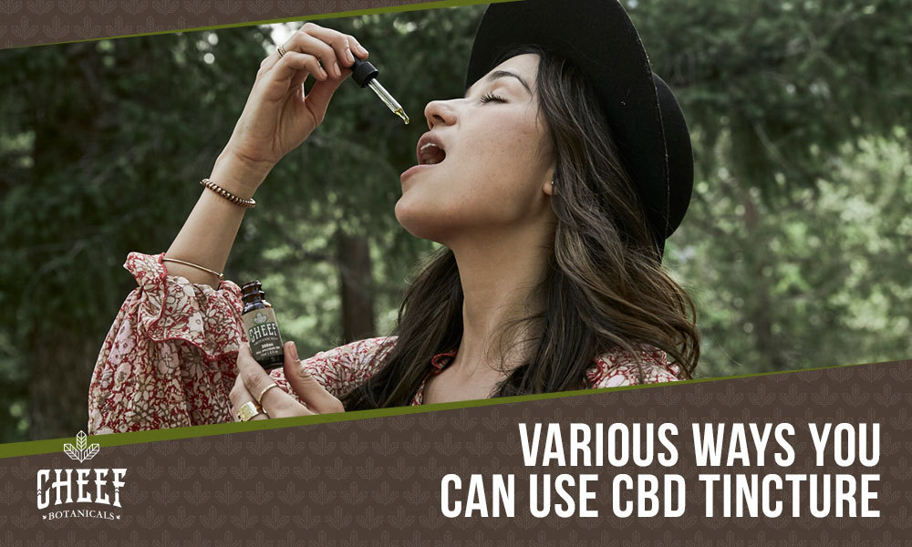 how to use cbd tincture featured image