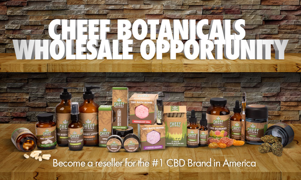 wholesale cbd become a reseller for Cheef Botanicals CBD Brand