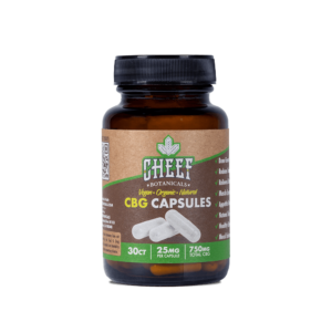 Cheef Botanicals CBG Capsules 750mg