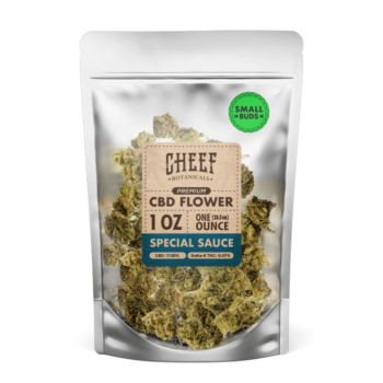 CBD Hemp Flower – Special Sauce (SMALL BUDS)