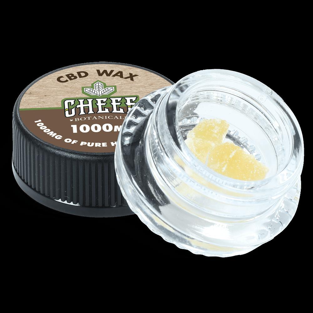Cheef Botanicals CBD wax in a Jar