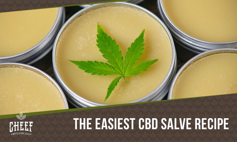 how to make cbd salve featured blog image
