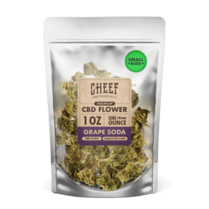 grape soda cbd flower small buds 1 ounce