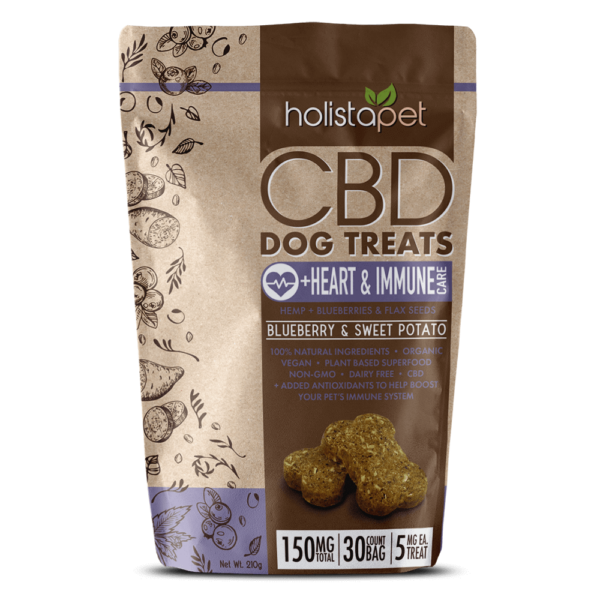 CBD Dog Treats for Heart and Immune 150mg