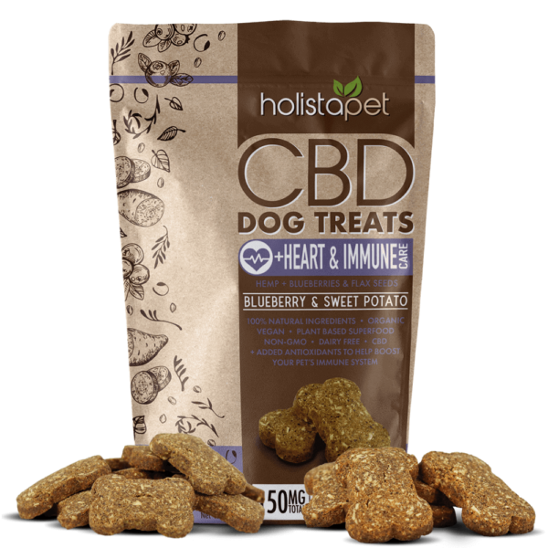 CBD Dog Treats for Heart and Immune with treats