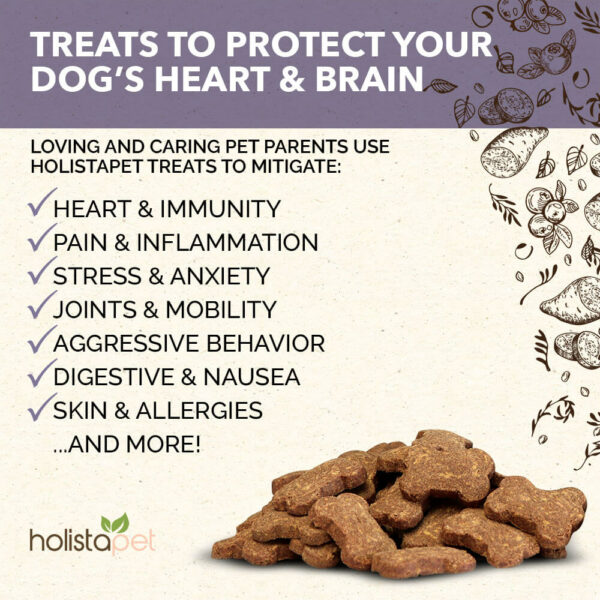 CBD Dog Treats for Heart and Immune benefits