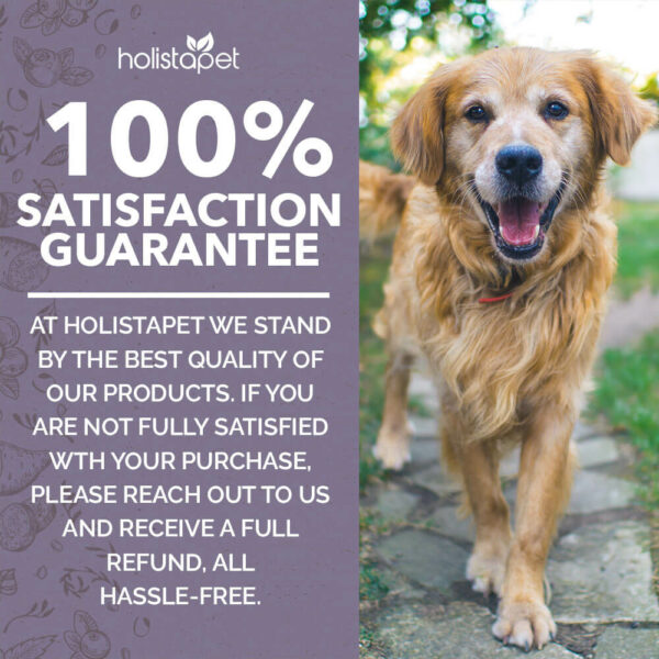 HolistaPet Guarantee statement