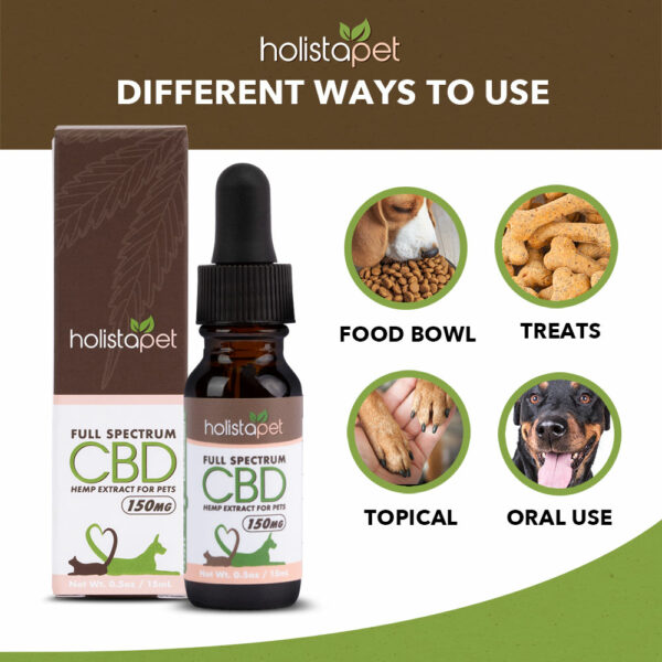 different ways to use CBD for pets
