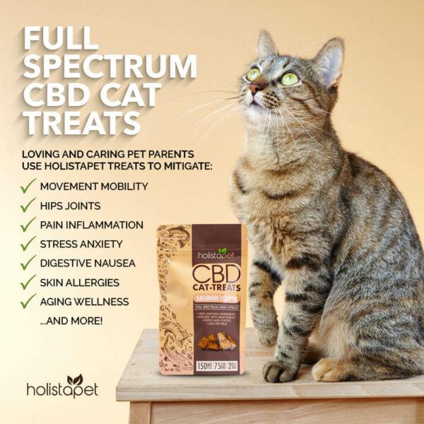 Full spectrum CBD cat treat benefits