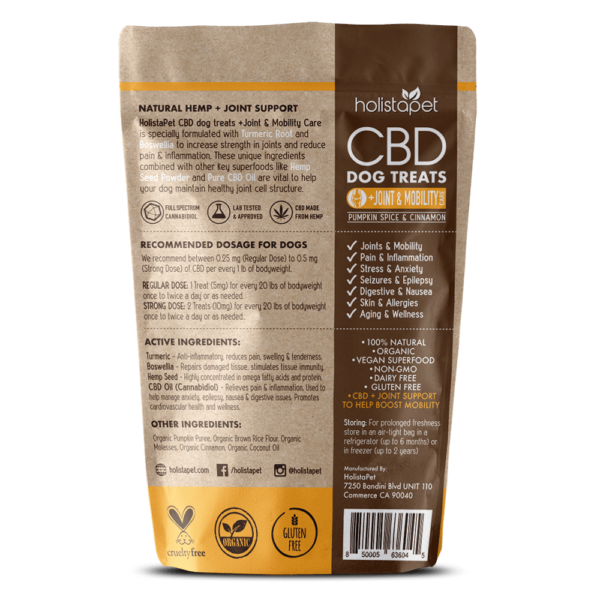 CBD Dog Treats for Joint and Mobility back