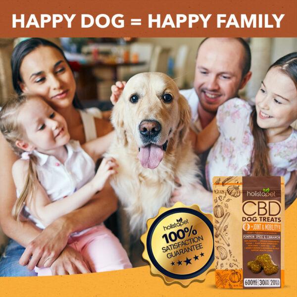 HolistaPet treats and family